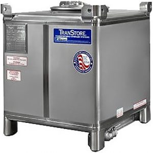 110 Gallon Food Grade Stainless Steel IBC
