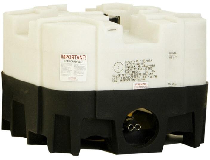 120 Gallon Polyethylene Stackable IBC