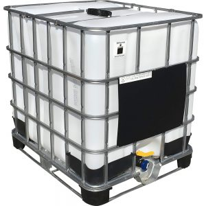 275 Gallon Rebottled Caged IBC
