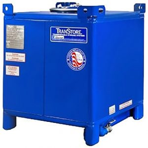 300 Gallon Carbon Steel IBC