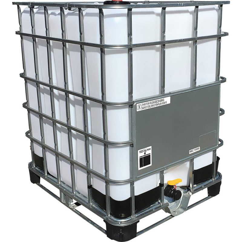 330 Gallon New Caged IBC