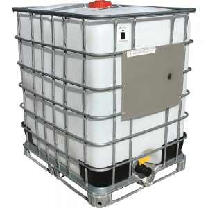 330 Gallon Reconditioned Caged IBC
