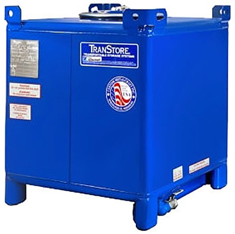 350 Gallon Carbon Steel IBC