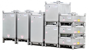 Stainless Steel Liquid IBC Totes